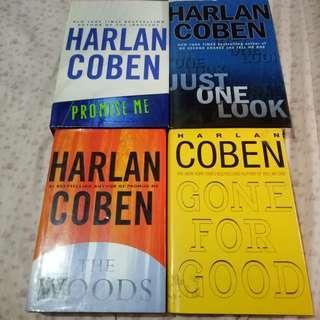 Harlan Coben Books (Hardcover) - Lot of 4