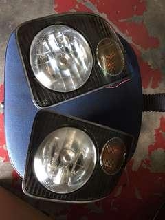 Subaru pleo rs Bumper foglamp & signal
