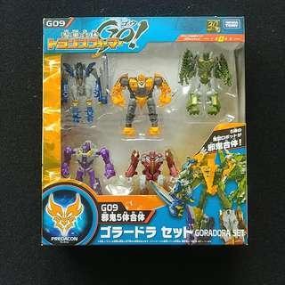 Transformers 變形金剛 参乘合体 G09