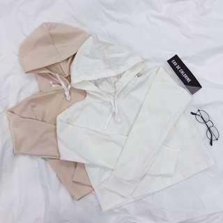 Plain White Hoodie White Sweater Hoodie Beige Hoodie Hooded Sweatshirt Jacket White Hoodie Cropped Hoodie