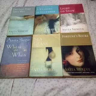 Anita Shreve Books (Trade Paperback) - Lot of 6