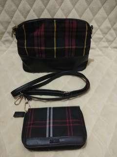 Small Sling and Wallet Bundle