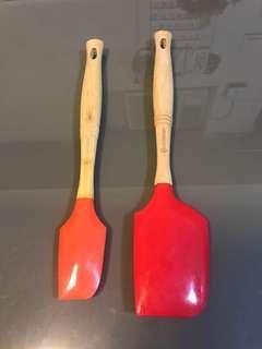 LC 橙+紅矽膠刮