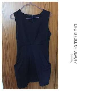 寶藍色連身裙dress - 超特價發售