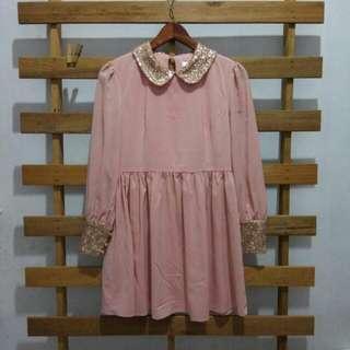 Korean Sequin Dress
