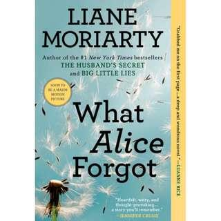 What Alice Forgot (Liane Moriarty)