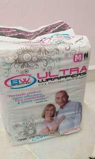 BW Ultra Absorbent Adult Diapers ( M size )