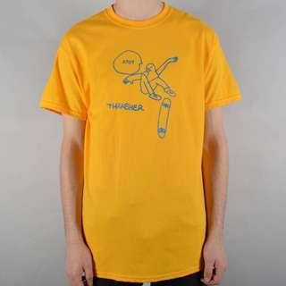 Thrasher Gonz KCUF T-Shirt Orange BNWT