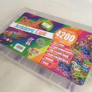 loom bands kit accessories case