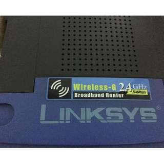 Linksys Wireless-G (Wireless Router)