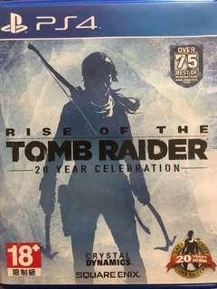 PS4 Rise of the Tomb Raider 中英文版