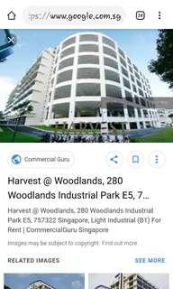 Harvest @woodlands B2 factory for sale
