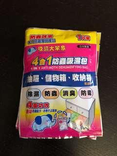吸濕大笨象 4合1防蟲吸濕包(兩包)