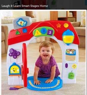 Fisherprice Laugh and Learning House