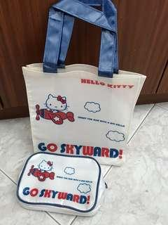 Hello kitty Lunch Bag & Pouch Set