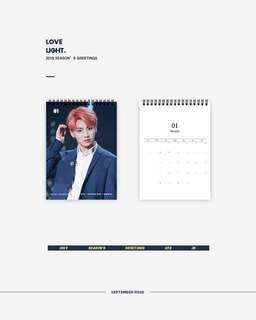 [SHARE] bts jungkook & jin season greetings <Love Light>