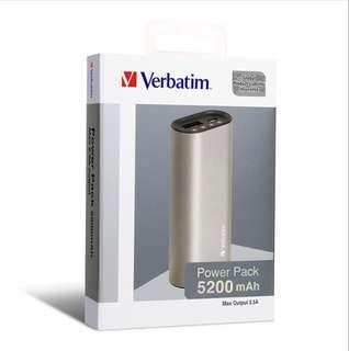 Verbatim PowerBank 5200mAh