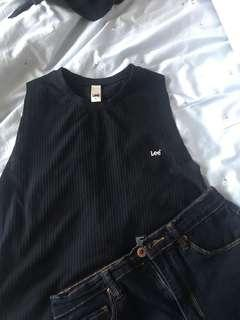 LEE BASIC BLACK TANK