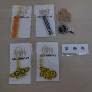 [UNOFFICIAL & MADE IN KOREA][SELLING IN SET ONLY][READY STOCK]BIGBANG GOODS; ALL ITEM IN PICTURE ONLY RM3!YES ALL ITEM RM3 ;PRICE NOT INCLUDE POSTAGE; POSLAJU:PENINSULAR AREA :RM10/SABAH SARAWAK AREA: RM15