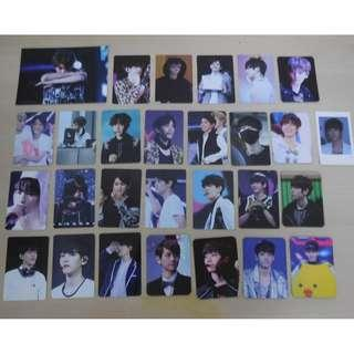 [LAST 1SET][UNOFFICIAL & MADE IN KOREA][SELLING IN SET ONLY][READY STOCK]EXO BAEKHYUN KOREA FANSITE PHOTO CARD 27PC+1PC POSTCARD ALL IN PIC ONLY RM8!YES ALL ITEM RM8 ;PRICE NOT INCLUDE POSTAGE; POSLAJU:PENINSULAR AREA :RM10/SABAH SARAWAK AREA: RM15