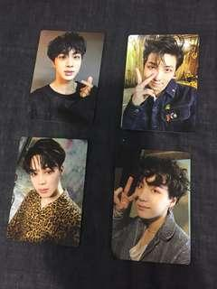 Official BTS Army Bomb Photocards