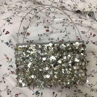 Sequins Dinner Clutch purse #under90