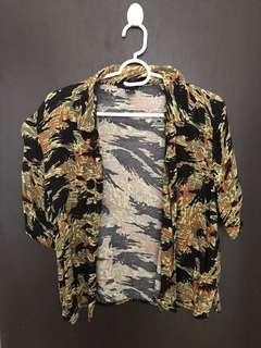 Forever 21 camouflage top