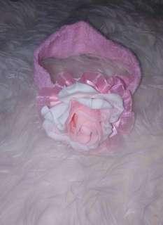 Bandana pink bayi