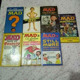 Mad Books / Al Jaffee Books (Paperback) - Lot of 7