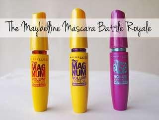 Buy 1 free 1 Maybelline mascara