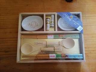 Disney Winnie the poon chopstick set