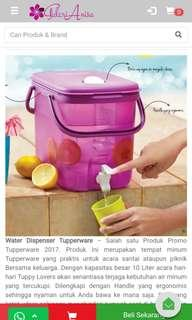 Dispenser Tupperware