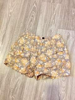 Uniqlo Floral Shorts