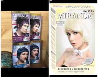 ‼️Free NM w 2 Miranda hair dye / bleach