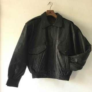 Jaket kulit asli utuk pria