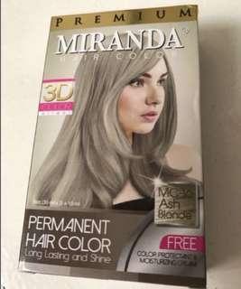 Miranda hair bleach  / ash blonde