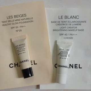Chanel deluxe foundation and primer set