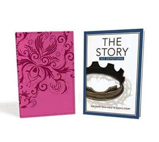 BN NIV, Graduation Gift, Bible Pack for Her, Pink, Red Letter Edition