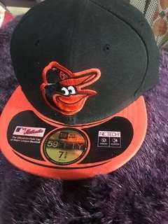 🚚 全新New era 59fifty 深藍洋基隊棒球帽,雷射標在(無調整帶)7 3/8