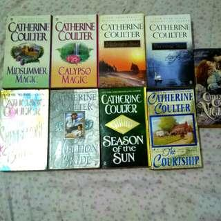 Catherine Coulter Books (Paperback) - Lot of 9