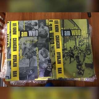 [NEW STOCK] STRAY KIDS 2ND MINI ALBUM - I AM WHO WITH PREORDER BENEFITS & POSTER