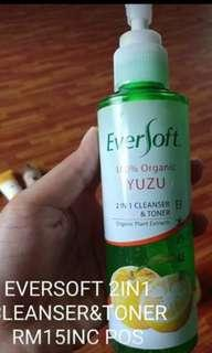 Eversoft 2 in 1 cleanser