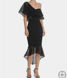 Elliatt one shoulder dress