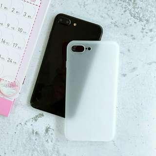 iPhone 7 Plus White Matte Case