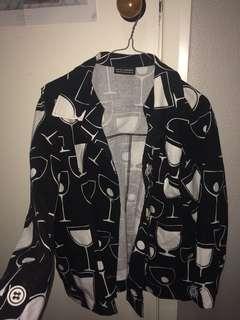 Funky wine jacket