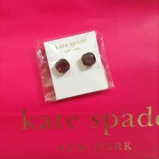 Kate Spade Amethyst Earrings