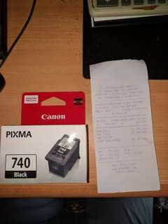 Tinta Canon 740 Black (NEW)