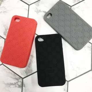 Gucci silicon Case for iPhone 4/4S