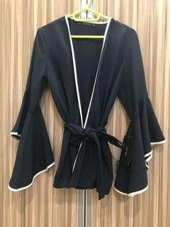 Zara Kimono wrap cardigan