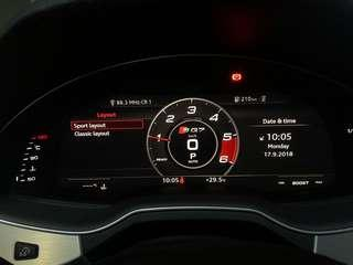 Audi Sport Layout